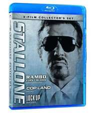 Sylvester Stallone Collection First Blood/Cop Land /Lock Up BLURAY(VG585374/VG25