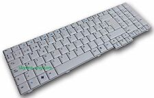 NEW Acer Aspire 7520G 7520Z Spanish White Keyboard PK1301L01L0 KBINT00145