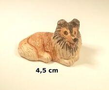 chien miniature en céramique ,collection, vitrine, hondje, dog   G-chiens-W14