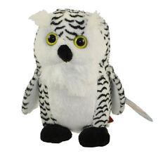 Adventure Planet Plush Pounce Pal - SNOWY OWL ( 5.5 inch ) - New Stuffed Animal