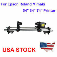 """54"""" 64"""" Auto Take up Reel System Paper Receiver For Epson /Roland /Mimaki /Mutoh"""