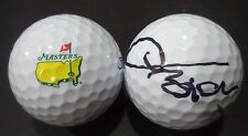 THOMAS BJORN GOLF STAR SIGNED AUTOGRAPHED TITLEIST MASTERS LOGO GOLF BALL COA