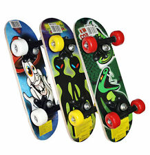 "Kids Childrens Junior Mini Satchel Skateboard 17"" x 5"" Outdoor Beginners Skate"