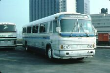Barrett Bus Lines Gm Pd 4106 bus Kodachrome original Kodak slide
