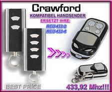 Crawford RCU 433-2, RCU 433-4 Micro Kompatibel Handsender 433,92Mhz Rolling code