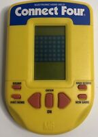Milton Bradley MB CONNECT FOUR Electronic Handheld Travel Game 1995
