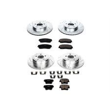 Powerstop K1715-High Performance Brake Pads & Rotor Kit-Front & Rear