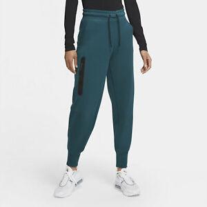 Nike Sportswear Tech Fleece Pants - MEDIUM - CW4292-300 Teal Black Dark Jogger