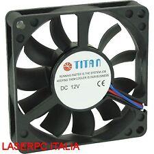 Ventola Titan TFD-7010M12Z 70 x 70 x 10 mm 3 Pin 7x7 70MM Dissipatore CPU