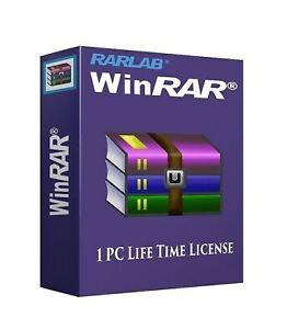 WinRAR Lifetime License For Latest Version (32Bit & 64Bit)