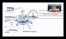 DR JIM STAMPS US VIKING MISSIONS TO MARS FDC SPACE COVER SCOTT 1759 UNSEALED