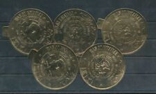 Ras Al Khaima 1964 Death Anniversary Kennedy Eagle GOLD Stamps x 5 MNH(W119s