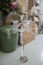 Crystal Candle Holders & Accessories with Tabletop