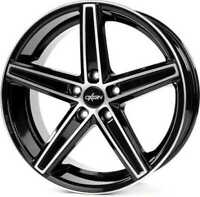 Car Wheel Size 12 x R20 Oxigin Quality Full Black Polish ET 40 Brand New