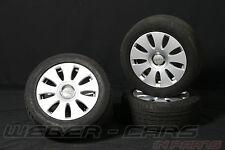 orig Audi A4 8E 16 Zoll Alufelgen 8E0601025AE Dunlop Sommerreifen 205 55 R16 91W