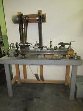 Antique B.C. Ames Watchmaker's/ Clockmaker's/Instrument Maker's Precision Lathe