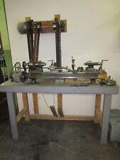 Antique B.C. Ames Watchmaker's/ Clockmaker's/Instrument Maker's Precision Lathe