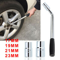 Extendable Wheel Brace Wrench Telescopic Car Van Socket Tyre Nut 17 19 21 23mm G