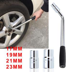 Extendable Wheel Brace Wrench Telescopic Car Van Socket Tyre Nut 17 19 21 23mm G