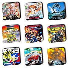 Sega Mega Drive Games - Box Art Coasters - Retro - Wood Coasters - 4 For 3 Offer