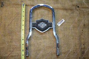 Harley Dyna FXR chrome sissy bar + Bar & Shield emblem FXRT FXRD FXRP EPS23248