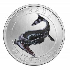 Prehistoric Animals: Tylosaurus Pembinensis - 25-Cent Glow in Dark Coin [2013]