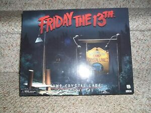 Friday the 13th Camp Crystal Lake Accessory Set Brand New NECA REEL Toys