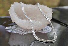 Platinum & Diamond Choker Necklace, 14 Cts Diamonds, 14.75 Inches, 1940's, MINT