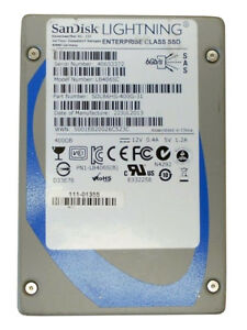 "SanDisk Lightning LB406SC 400GB Flash 6Gbps 2.5"" SAS SSD"