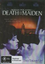 Death And The Maiden R18+ Roman Polanski New DVD Region ALL Sealed