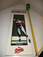 CAL RIPKEN JR. 1993 PLAYMAKERS COLLECT & TRADE ART BALTIMORE ORIOLES PRINT NEW !