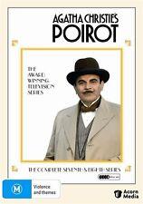 Agatha Christie - Poirot : Series 7-8 (DVD, 2009, 4-Disc Set) - Region 4