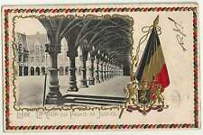 LIEGE ( Belgium) :  Palace of Justice+ Arms -embossed