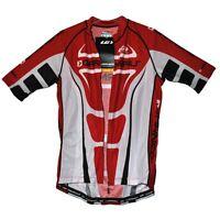 new Louis Garneau Elite Racer men's cycling jersey Carbon full zip Made Canada