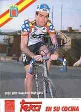 JOSE LUIS NAVARRO MARTINEZ TEKA Team Signed Autographe cycling cyclisme signé