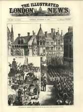 1883 sindaci giorno processione al di fuori di una nuova legge tribunali indiani coloniale Trofei