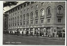bella cartolina di firenze piazza stazione  bar caffe' grande italia ufficiale