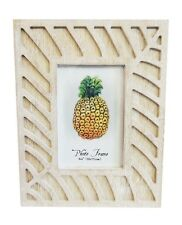 """WASHED LOOK TIMBER PHOTO FRAME. 4 X 6""""."""
