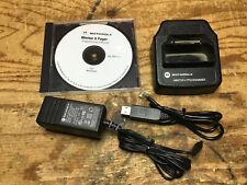 Motorola Minitor V Programming Cradle / USB / Software