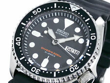 Seiko JAPAN Made Black SKX 200M Diver's Men's Watch