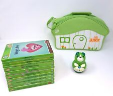 LeapFrog lot of 11 TAG JUNIOR books with case and dog reader education