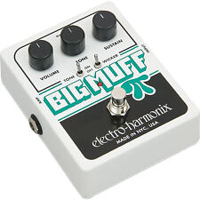Electro-Harmonix EHX Big Muff Pi with Tone Wicker Distortion Guitar Effect Pedal