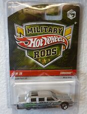 2009 MILITARY RODS HOT WHEELS LIMOZEEN #2 /26 In Protector!