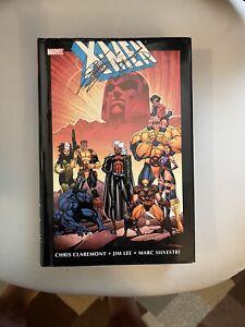 X-Men By Chris Claremont & Jim Lee Omnibus Vol 1 Marvel Hardcover Signed