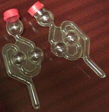 Kunststoff Gärrohr   2 Kugeln - Gärröhrchen / Gäraufsatz Airlock