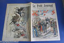 Le petit journal 1905 781 Portugal Roi Don Carlos corrida  Lisbonne