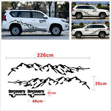 2 Pcs Vinyl Decal Mountain Graphics 226 x 35cm Car SUV Body Decor Decal Stickers