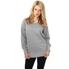 M Damen-Pullover & -Strickware ohne Muster in Langgröße