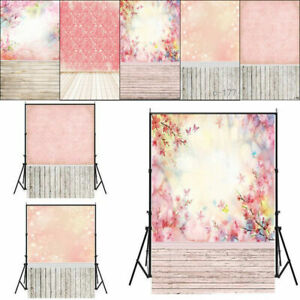 Pink Patterns Wall Vinyl Photography Background Studio Photo Props Backdrop