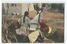 POSTCARD GREECE , THESSALONIKI , MACEDONIAN WEAVERS